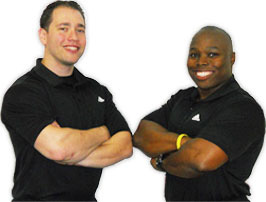 Fit Clients software testimonial Rahz Slaughter and Greg Kalafatic